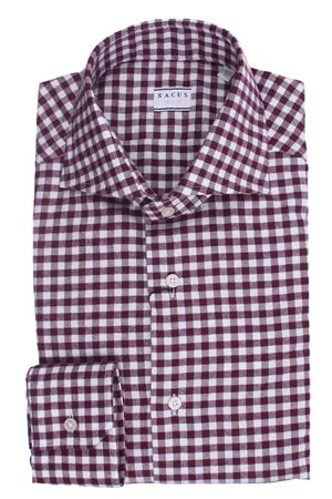 Camicia quadretto in flanella di cotone XACUS | 5032279 | 521ML71350004