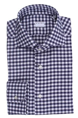 Camicia quadretto in flanella di cotone XACUS | 5032279 | 521ML71350005