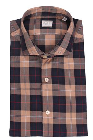 Camicia check in twill di cotone XACUS | 5032279 | 722ML71335002