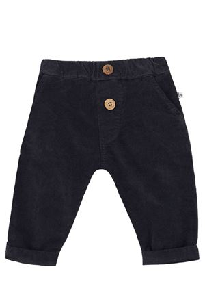 Pantalone in velluto liscio 1+ IN THE FAMILY | 5032272 | ARTALCHARCOAL