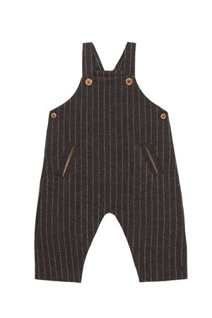 Striped overalls 1+ IN THE FAMILY | 5032303 | AXELCHARCOAL