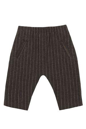 Pantalone cavallo basso rigato 1+ IN THE FAMILY | 5032272 | NATHANCHARCOAL