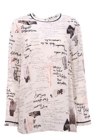 Silk flower shirt ALYSI | 5032279 | 151257A1212BURRO