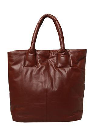 Borsa real leather maxi ALYSI | 5032281 | 251623A1215COTTO