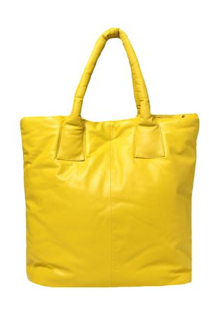 Borsa real leather maxi ALYSI | 5032281 | 251623A1215LIME