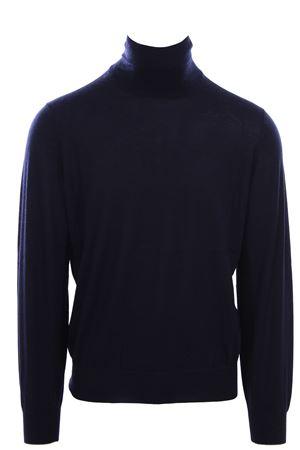 Maglia collo alto in cashmere e seta BRUNELLO CUCINELLI | -161048383 | M2300103CW425