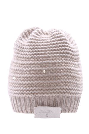 Cashmere wool and silk hat BRUNELLO CUCINELLI | 5032304 | M6D365989CAY63