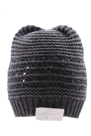 Cashmere wool and silk hat BRUNELLO CUCINELLI | 5032304 | M6D365989CPS38