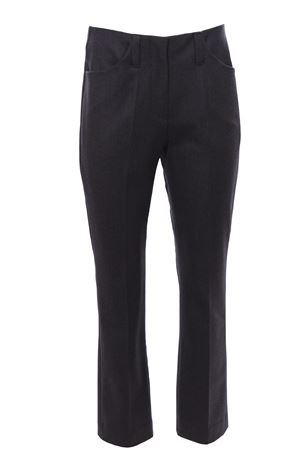 Pantaloni vita alta in lana BRUNELLO CUCINELLI | 5032272 | MB038P7777C002