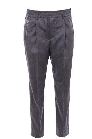Pantaloni gamba stretta con elastico BRUNELLO CUCINELLI | 5032272 | ME226P7811C003