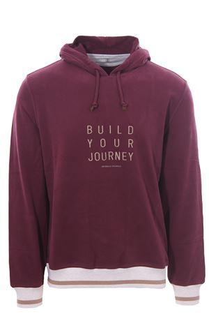 Sweatshirt with hood and embroidery BRUNELLO CUCINELLI   -161048383   MTU149230GCEC41