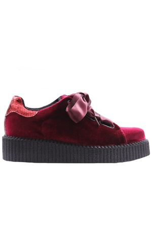 Velvet sneakers BSDB   20000049   311VELLUTOB/BORDO
