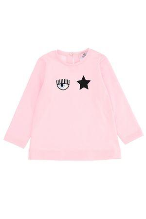 T-shirt in cotone occhio stella CHIARA FERRAGNI | 8 | 53860482060090