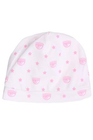 Cotton bonnet with logo CHIARA FERRAGNI | 5032304 | 55800580270190