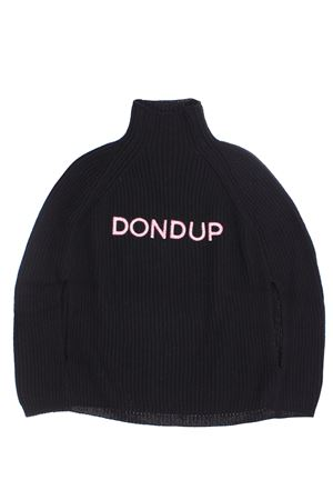 Cappa collo alto a coste DONDUP | -161048383 | DFMA43FL116YD006N013