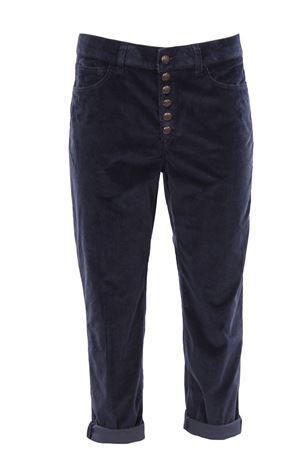Pantaloni koons in velluto DONDUP | 5032272 | DP268BDDVS0024DPTD890