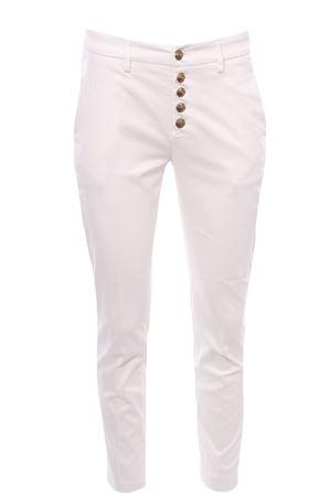 Pantaloni carmen in cotone DONDUP | 5032272 | DP600DDGS0049DBM5002