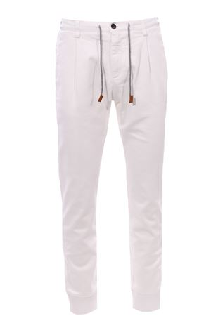 Pantalone jogger in cotone stretch ELEVENTY | 5032272 | 070PAND06TET0D02201