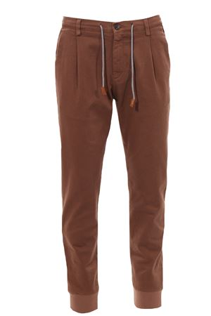 Pantalone jogger in cotone stretch ELEVENTY | 5032272 | 070PAND06TET0D02225