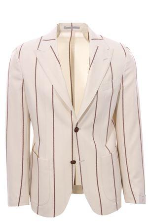 Pinstriped wool jacket ELEVENTY | 5032284 | D75GIAC12BOTTES0D00201-04
