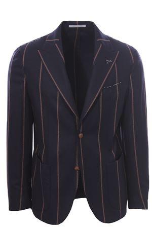 Pinstriped wool jacket ELEVENTY | 5032284 | D75GIAC12BOTTES0D00211