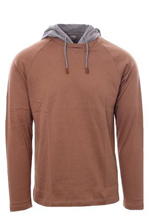 Cotton t-shirt with hood ELEVENTY | 8 | D75TSHD08TES0D16104-14