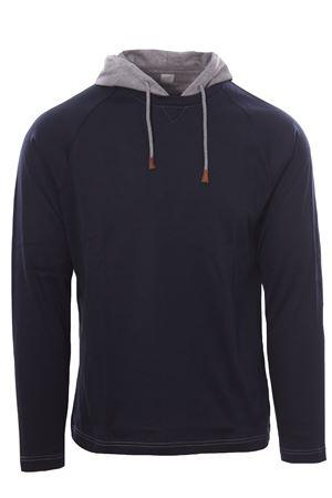 Cotton t-shirt with hood ELEVENTY | 8 | D75TSHD08TES0D16111-14
