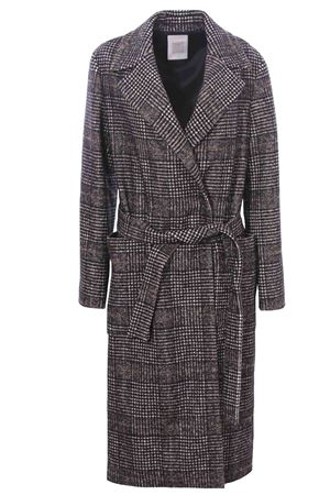 Double breasted coat with belt ELEVENTY | 5032278 | D80CAPD11TES0D12404