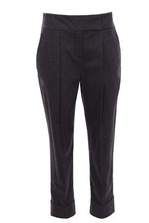 Pantaloni vita alta con pinces ELEVENTY | 5032272 | D80PANB03TES0B00515