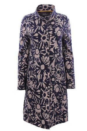 Jacquard wool coat EWOOLUZIONE | 5032278 | CORSAGLIAFL512200210019C4007