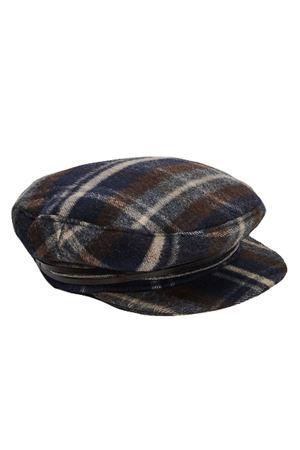 Checked beret FABIANA FILIPPI | 5032304 | AAD221W442F672VR1