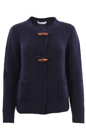 Wool silk and cashmere cardigan FABIANA FILIPPI | -161048383 | MAD221W093N1285131