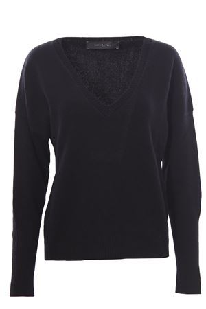 Wool v-neck with detachable collar FEDERICA TOSI | -161048383 | FTI21MK058OFTAI210002