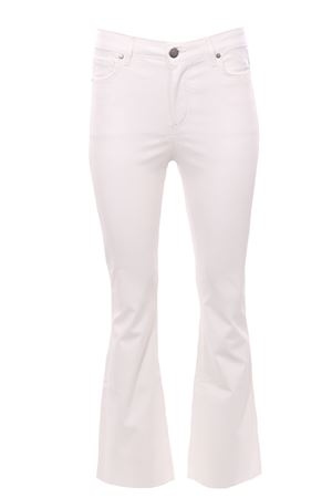 Jeans zampa effetto neoprene FEDERICA TOSI | 24 | FTI21PJ044OFTAI210008