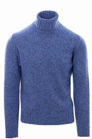 Collo alto in lana e cashmere moulinè FILIPPO DE LAURENTIS | -161048383 | DV3MLWC5RM810