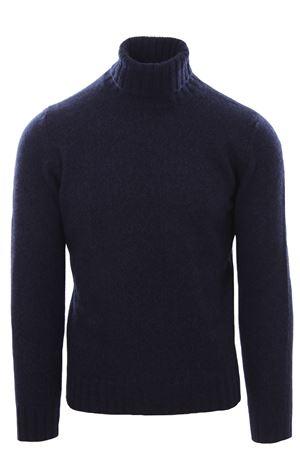 Collo alto in lana e cashmere moulinè FILIPPO DE LAURENTIS | -161048383 | DV3MLWC5RM890