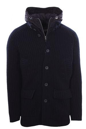 Giaccone in maglia di lana HERNO | 5032282 | MC0021U700169200