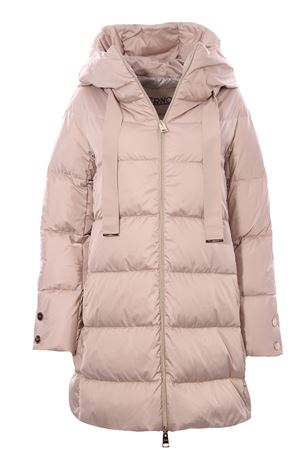 Down jacket with hood HERNO   5032285   PI1304D121701985