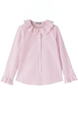 Camicia in cotone con rouches IL GUFO | 5032279 | CL169C1069382