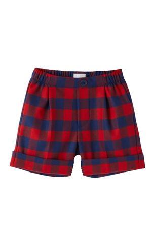 Checked shorts IL GUFO | 30 | PB019W3051377