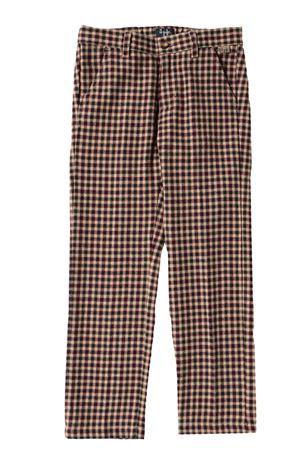 Pantalone check IL GUFO | 5032272 | PL088C3126497