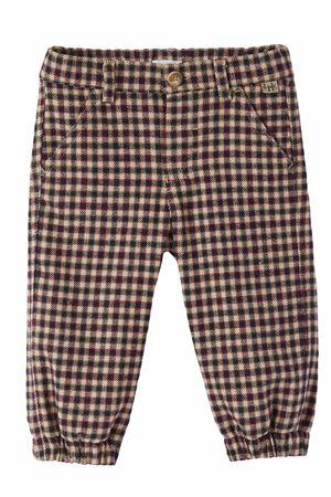 Pantalone check IL GUFO | 5032272 | PL346C3126497