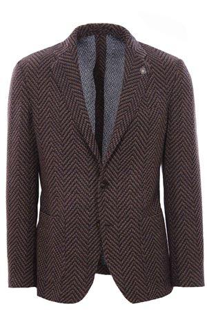 Liknit jacket LARDINI | 5032284 | IPLKJ1EIP57044200BL