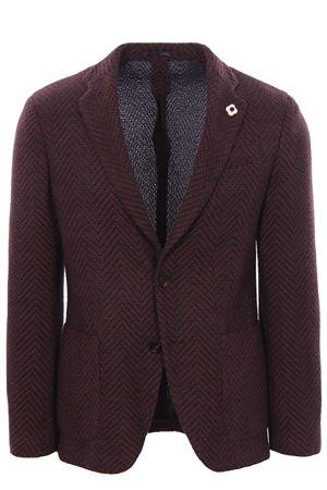 Liknit jacket LARDINI | 5032284 | IPLKJ1EIP57044450BL