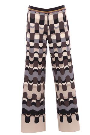 Pantalone in cady multicolor MALIPARMI   5032272   JH725260051B1246