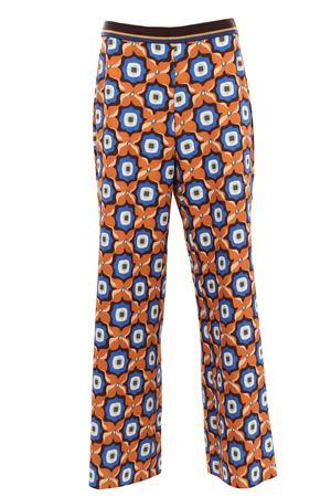 Pantalone in cady multicolor MALIPARMI   5032272   JH725260058A4131