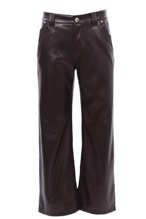 Pantaloni leather cinque tasche MALIPARMI   5032272   JH74615056940007