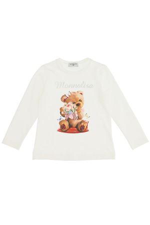 T-shirt orso in cotone stretch MONNALISA | 8 | 118610SI82010001