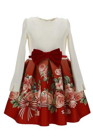 Dress with flower print MONNALISA | 5032276 | 11891686596643