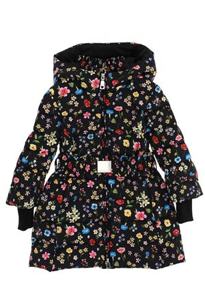 Down jacket with flowers MONNALISA | 5032285 | 19810780140050